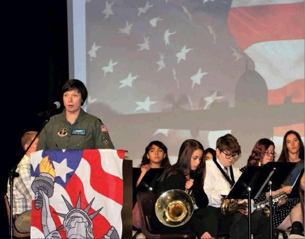 Centennial anniversary of Veterans Day celebrated at Bridgeport Public Schools