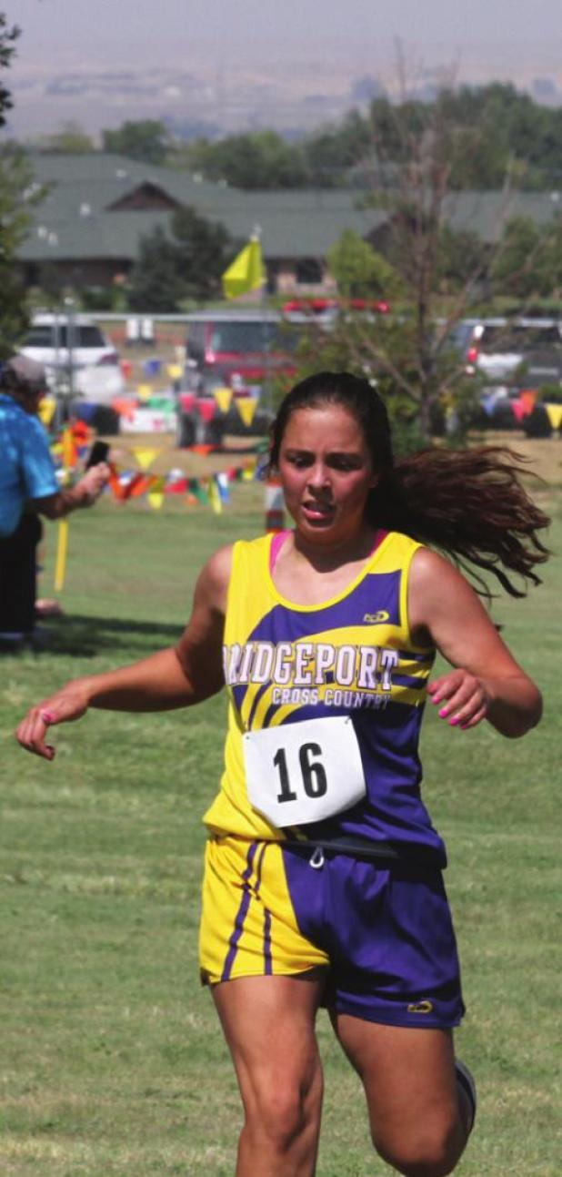 Lady runners take first place