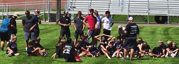 Football camp held