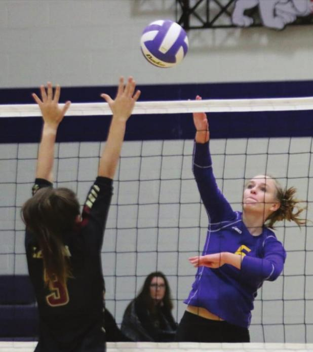 Lady Bulldog volleyballers take first place