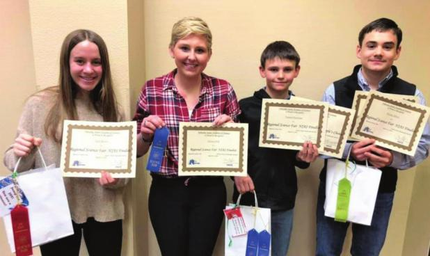 Leyton students heading to state science fair