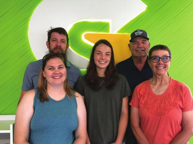 Loomis-Goltl receives Fresh Start Scholarship