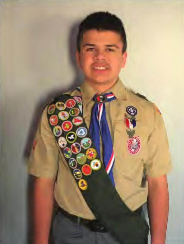 Boy Scout organizes soup kitchen to earn Eagle Scout Award