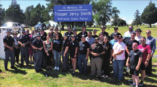 NSP honors officer Jerry Smith