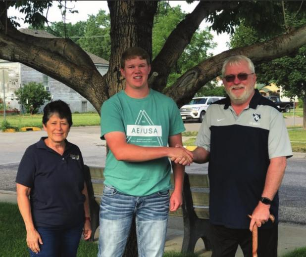 Deaver receives scholarship to attend South Dakota School of Mines