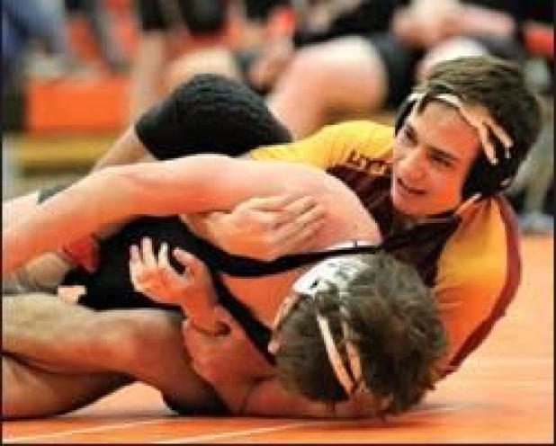 Warriors grapple at Bayard Duals