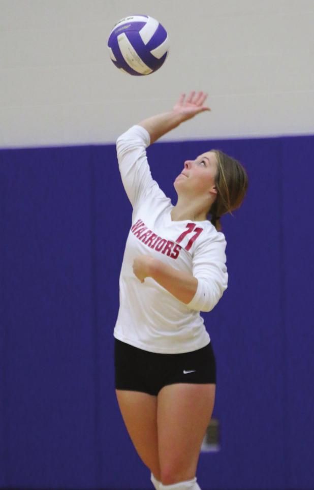 Leyton's Rummel makes first team volleyball