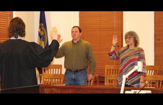 County officials sworn-in
