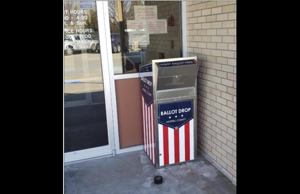 Drop box available at the courthouse