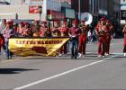 Leyton marching band performs during Oktoberfest in Sidney