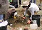 History Nebraska archeologists host a dig at Courthouse and Jail Ro